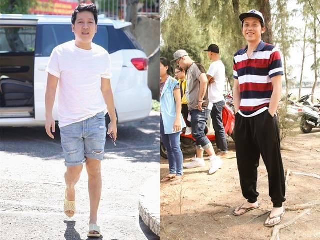 Trang phục hàng hiệu hiếm hoi của Hoài Linh, Trường Giang - 1