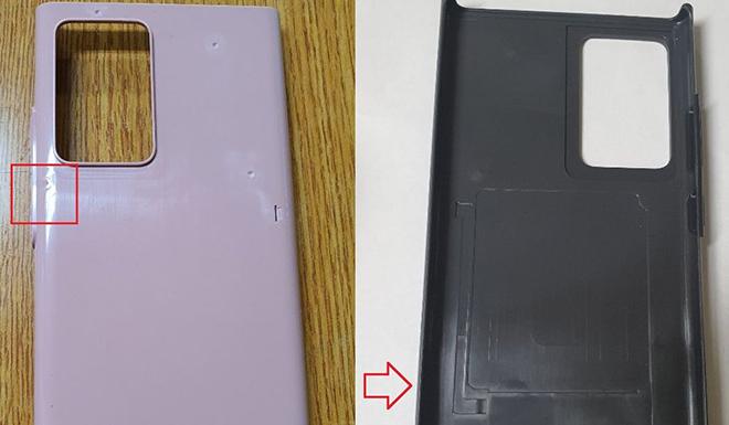 Vỏ bảo vệ làm lộ diện thiết kế Galaxy Note20 - 1