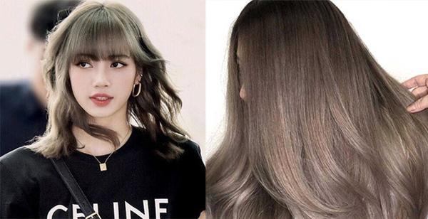20 Màu tóc nâu lạnh ánh rêu, trầm đẹp nhất 2020 giúp tôn da bạn nên thử - 4