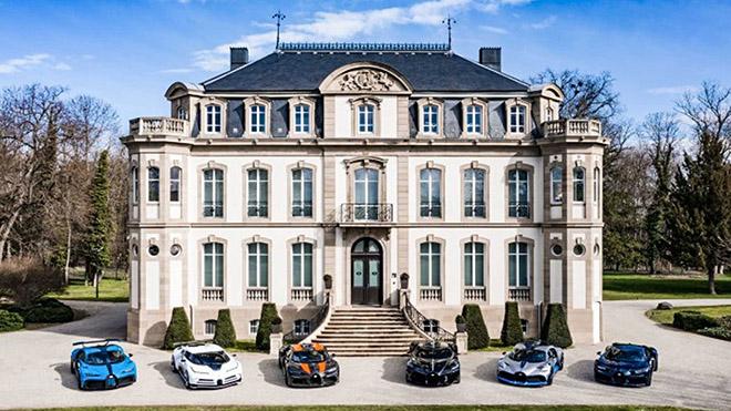 Ngắm bộ sưu tập siêu xe Bugatti trị giá hơn 840 tỷ đồng - 1