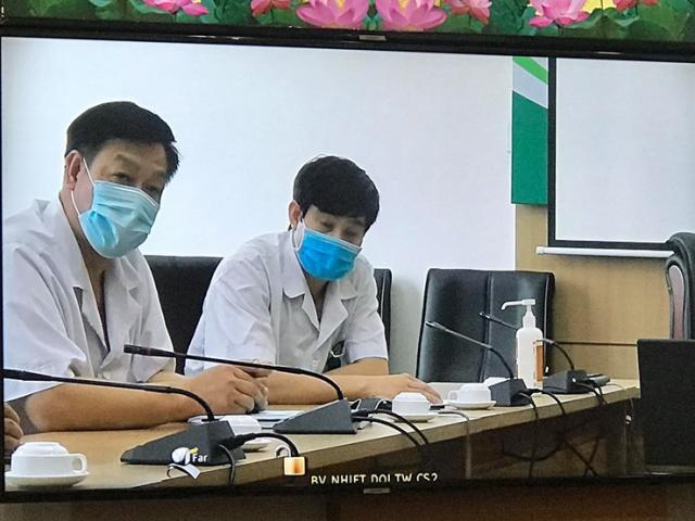 Một bệnh nhân nhiễm Covid-19 diễn biến nặng, phải thở máy