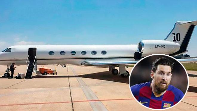 Siêu máy bay triệu đô của Messi gặp sự cố, tình trạng M10 ra sao? - 1