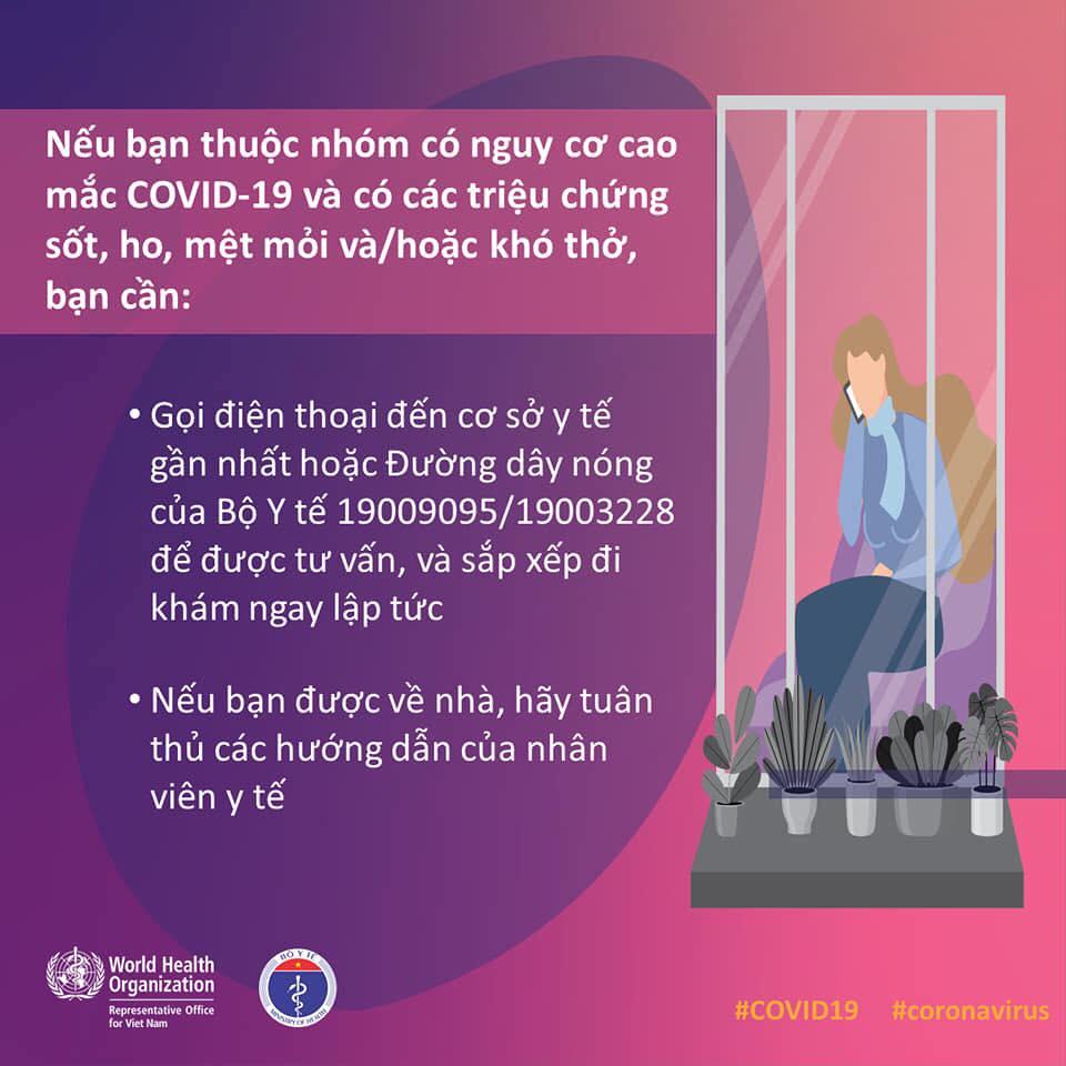 Người thuộc nhóm nguy cơ cao mắc COVID-19 cần làm ngay những việc này - 2