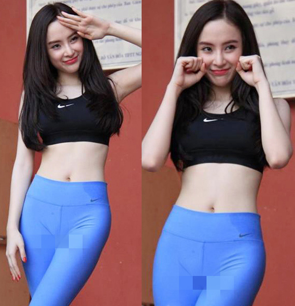 """Hot gymer Nha Trang bày cách chữa lỗi """"vô duyên"""" cho quần tập bó chẽn - 1"""