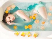 """""""Thiên thần tắm suối Thái Lan"""" tăng cân vẫn xinh như mộng"""