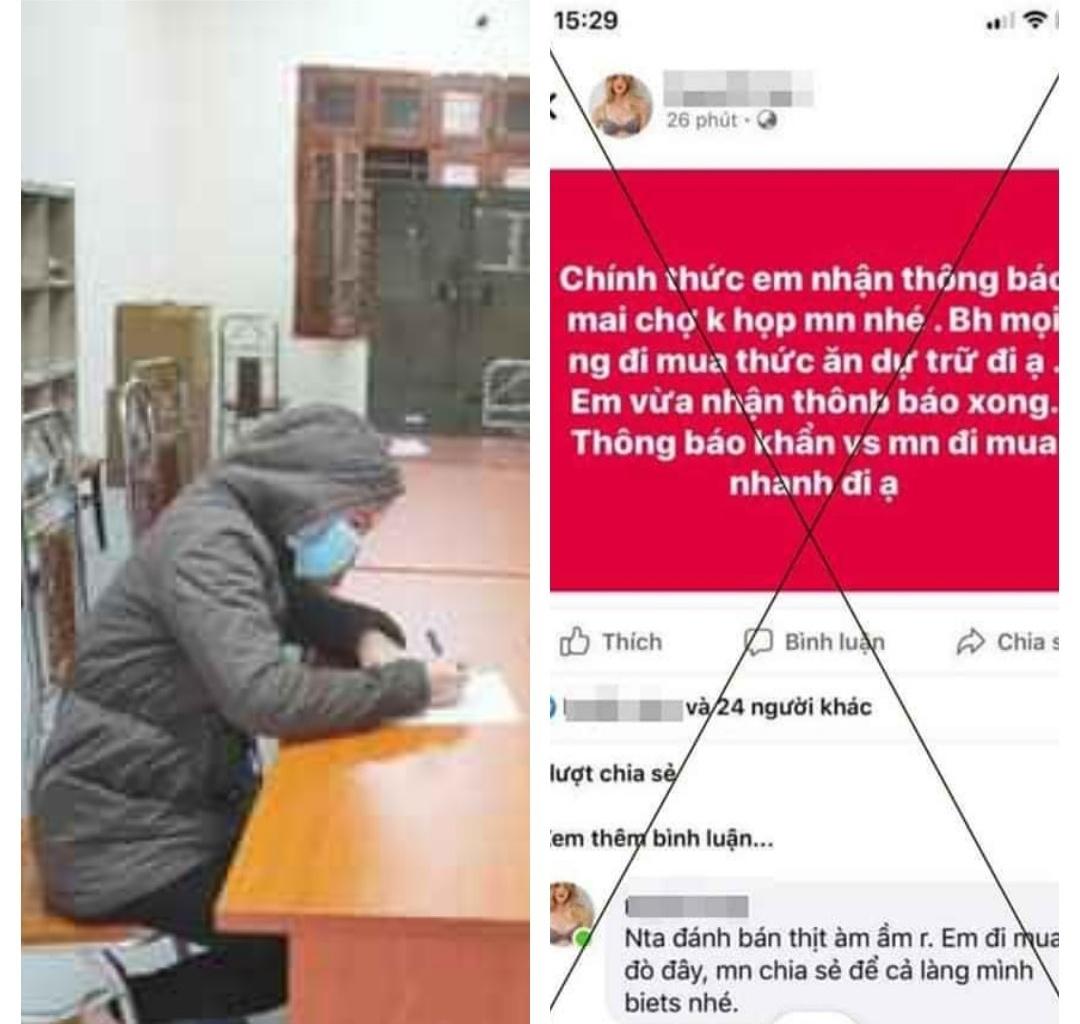 Tung tin chợ không họp, một phụ nữ bị phạt 12,5 triệu đồng - 1