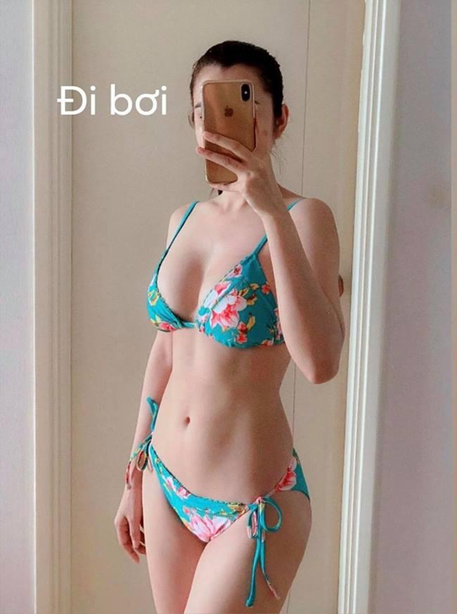 Huỳnh Vy nổi tiếng với vòng 3 lớn 100cm, bụng múi cuồn cuộn và vòng 1 căng tròn. Cô làm gì để có thân hình hoàn hảo tới vậy?