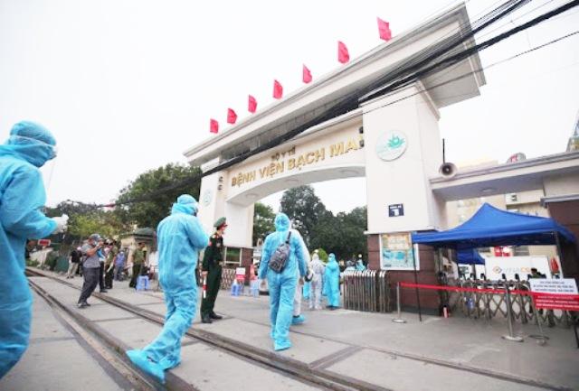 Rà soát được hơn 52.000 người liên quan đến Bệnh viện Bạch Mai - 1