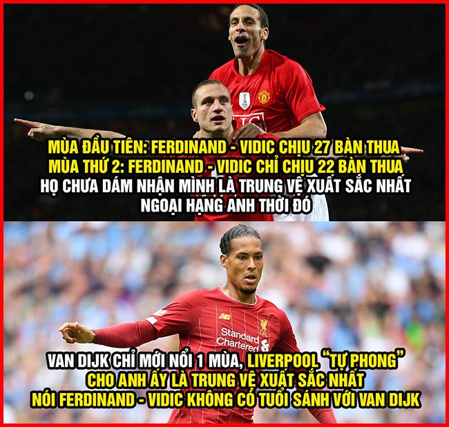 Ở nhà tránh dịch, fan MU không quên chế ảnh troll Liverpool.