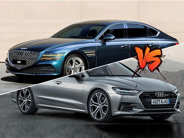 """So sánh Genesis G80 và Audi A7 Sportback, """"kẻ tám lạng người nửa cân"""""""