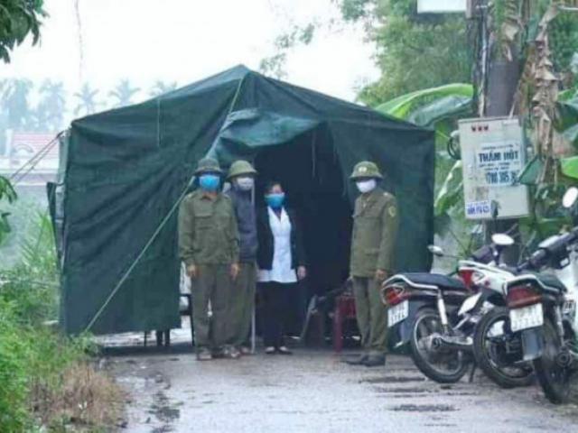 Cận cảnh kiểm soát thôn hơn 1.000 người, nơi có ca bệnh Covid-19 số 251 phức tạp