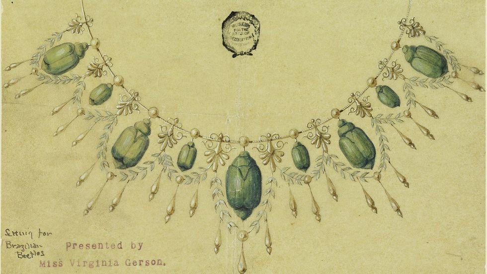Giai đoạn phụ nữ Anh coi xác côn trùng là trang sức mốt nhất - 1