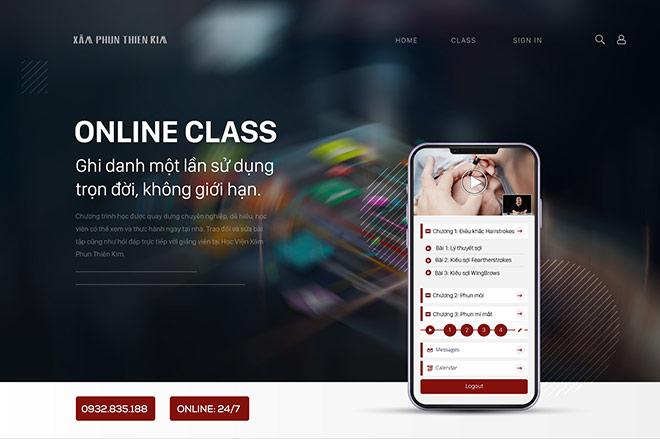 Xăm phun Thiên Kim: Hệ thống đào tạo online đẳng cấp cho học viên - 1
