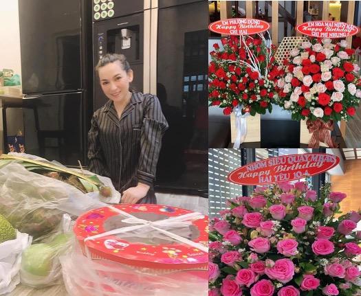 Phi Nhung nhận núi quà sinh nhật từ fan nhưng vẫn bật khóc vì điều này - 1