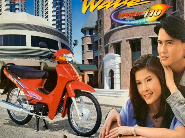 Thổn thức ngắm bộ ảnh huyền thoại xe số Honda Wave thời xưa