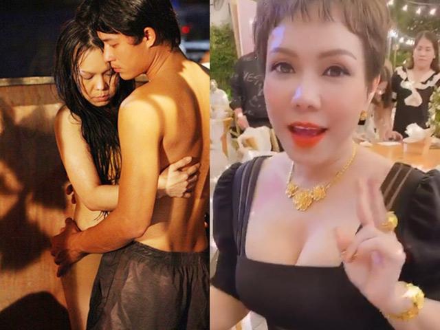 Nữ danh hài bị nhầm là vợ Hoài Linh đóng cảnh nóng táo bạo với trai trẻ giàu cỡ nào?