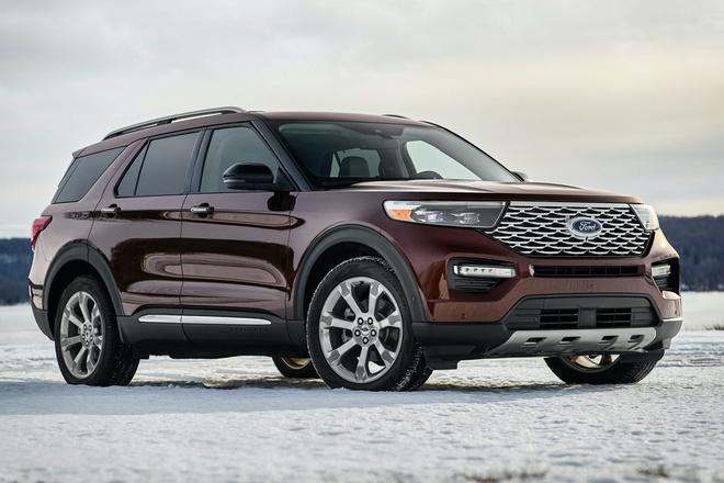 Ford Explorer 2020 bản Trung Quốc giá rẻ bằng nửa bản Mỹ - 1