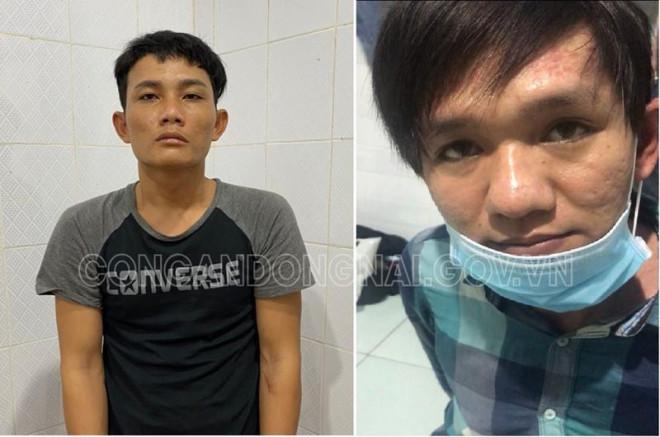 2 tên cướp dùng súng khống chế cả gia đình ở Đồng Nai lúc nửa đêm vừa bị bắt - 1