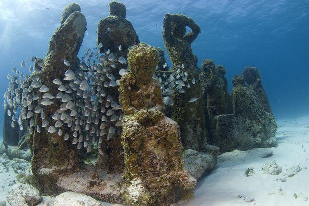 Những kỳ quan đẹp khác lạ bị chìm dưới nước - 1