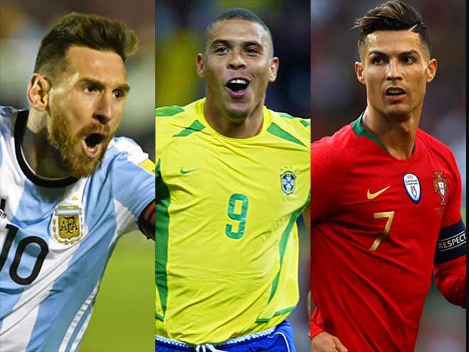 """Vua săn bàn 30 năm qua, Ronaldo hơn """"Rô béo"""" vẫn chỉ đứng thứ 3 - 1"""