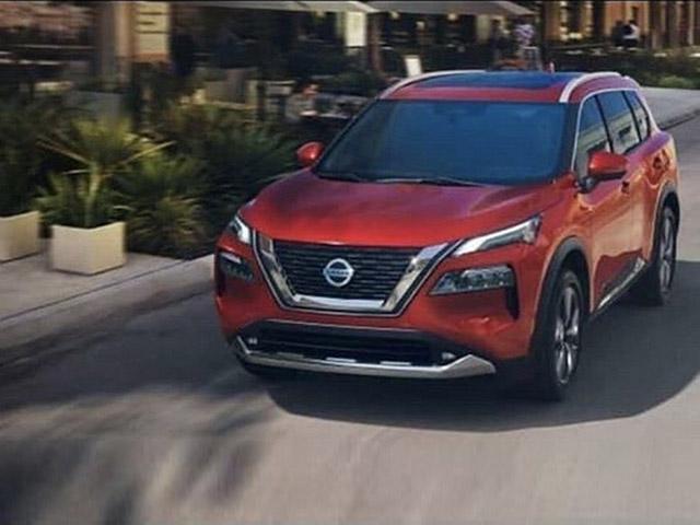 Nissan X-Trail 2021 rò rỉ hình ảnh đầy đủ nội thất và ngoại thất