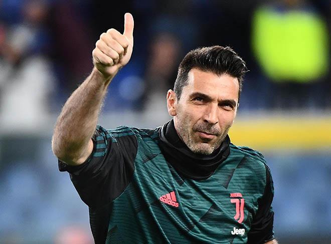 Tin HOT bóng đá tối 18/4: Buffon ở lại Juventus tới năm 43 tuổi - 1