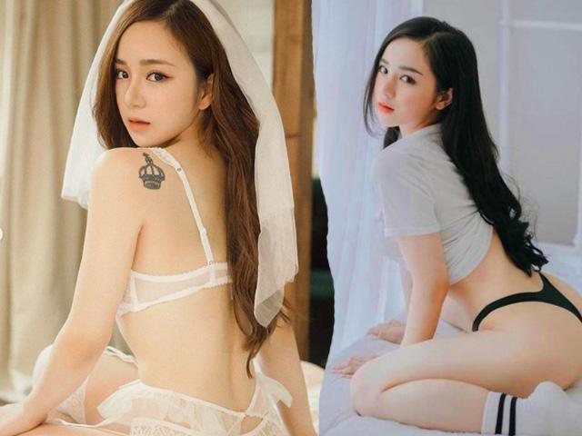 Chụp ảnh gợi cảm: Khánh My, nữ sinh Hưng Yên gây chú ý