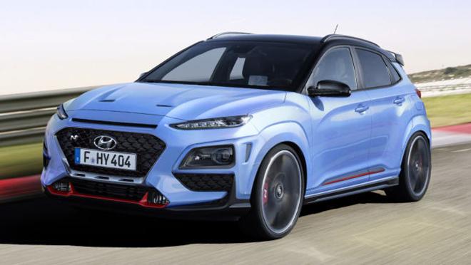 Lộ Hyundai Kona N mạnh 275 mã lực, số sàn 6 cấp và hệ dẫn động AWD - 1