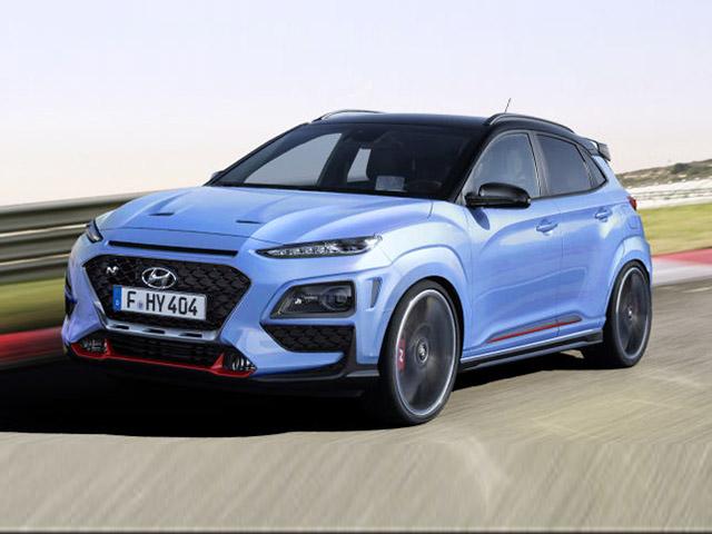 Lộ Hyundai Kona N mạnh 275 mã lực, số sàn 6 cấp và hệ dẫn động AWD
