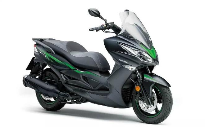 2020 Kawasaki J125 xuất hiện, Honda PCX thêm áp lực lớn - 1