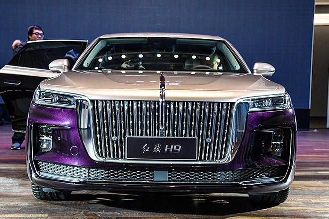 Xe Hồng Kỳ H9 của Trung Quốc ra mắt, cạnh trạnh với Rolls Royce - 1