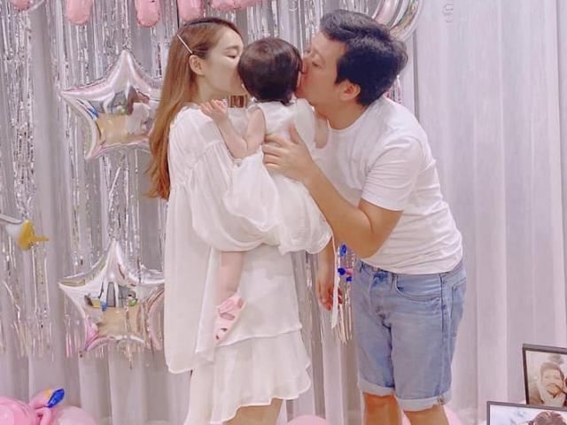 Trường Giang khoe ảnh con gái đầu lòng nhân dịp sinh nhật tuổi 37