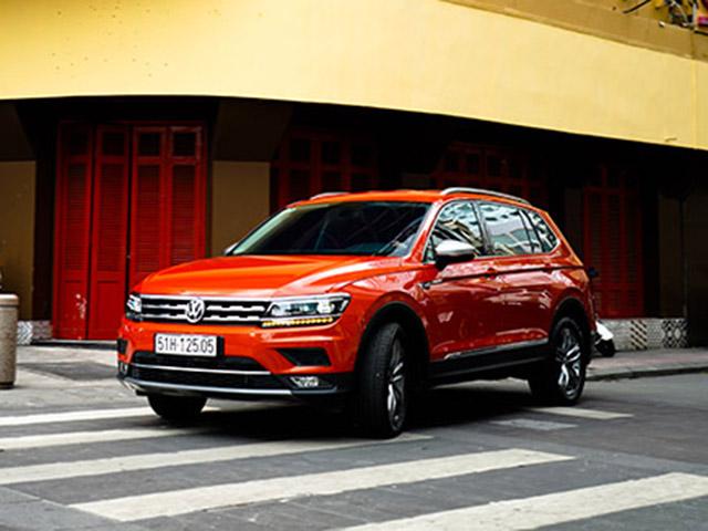 Volkswagens Tiguan có mặt trong danh sách xe bán chạy nhất toàn cầu
