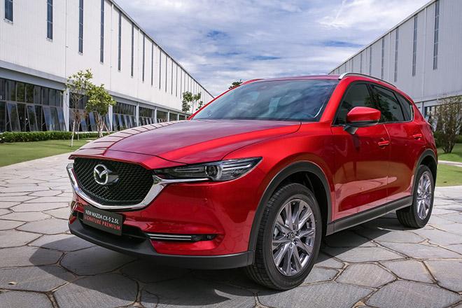 Mazda CX-8 và CX-5 giảm đến 150 triệu đồng cho 10 ngày cuối tháng 4 - 1