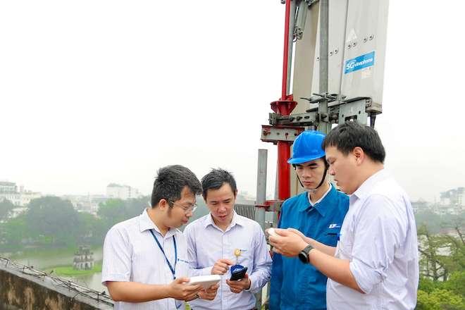 """Mạng 5G thử nghiệm của VinaPhone đạt hơn 281,6MB/s, """"khủng"""" nhất Việt Nam - 1"""