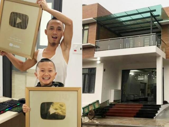 Anh em Tam Mao xây biệt thự 800m2, kiếm trăm triệu/tháng từ YouTube: Sự thật ngỡ ngàng