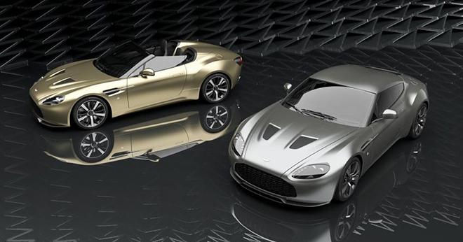 Lộ bộ đôi siêu phẩm Aston Martin Vantage V12 bản kỉ niệm 100 năm - 1