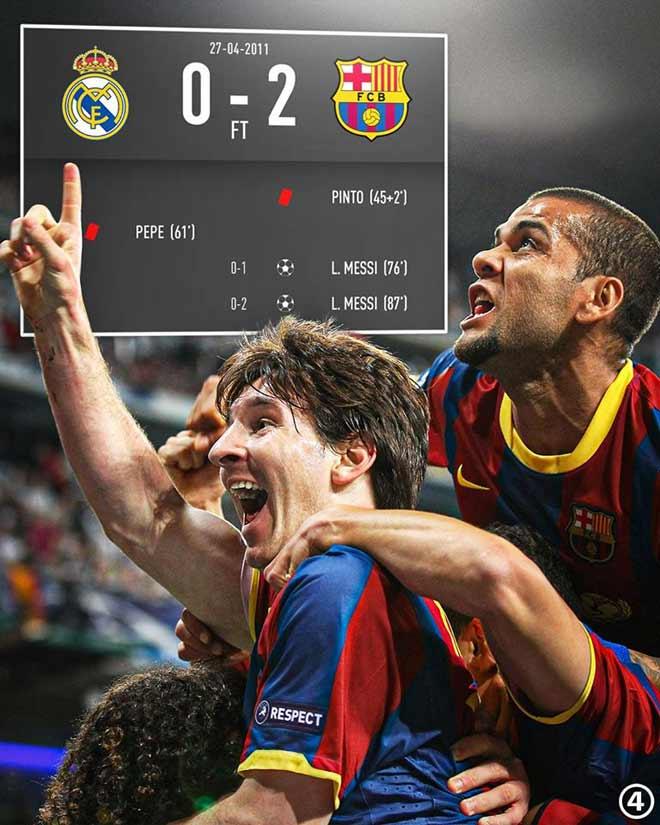 Tròn 9 năm Messi solo cực hay: Ronaldo bất lực, Barca hạ đẹp Real - 1
