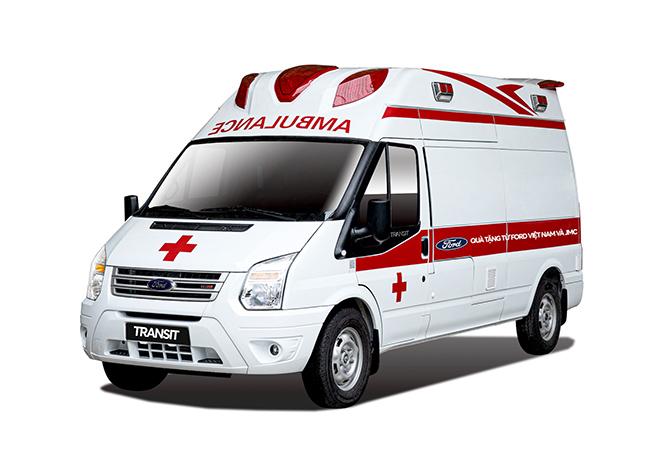 Ford trao tặng xe Transit cứu thương hỗ trợ mùa dịch Covid-19 tại Việt Nam - 1