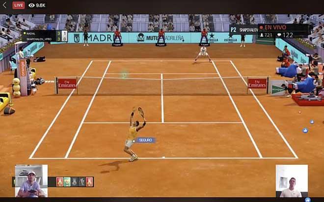 Nadal đánh giải tennis điện tử trực tuyến vẫn dính chấn thương - 1