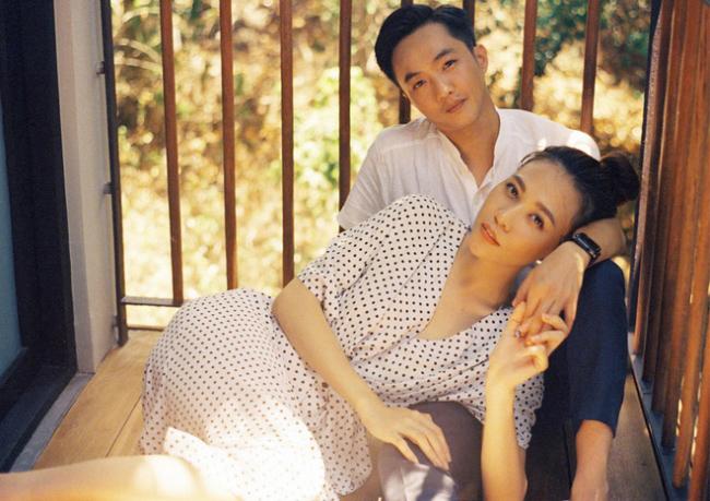 """Sau khi kết hôn cả 2 vợ chồng Đàm Thu Trang đã cùng nhau """"phát tướng""""."""