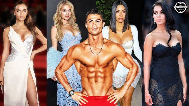 """Siêu đội hình mỹ nhân từng qua tay Ronaldo: Toàn """"chân dài"""" bốc lửa - 1"""