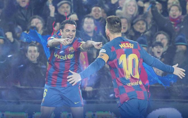 Huyền thoại Barca Xavi tiết lộ thời điểm Messi từ giã bóng đá - 1