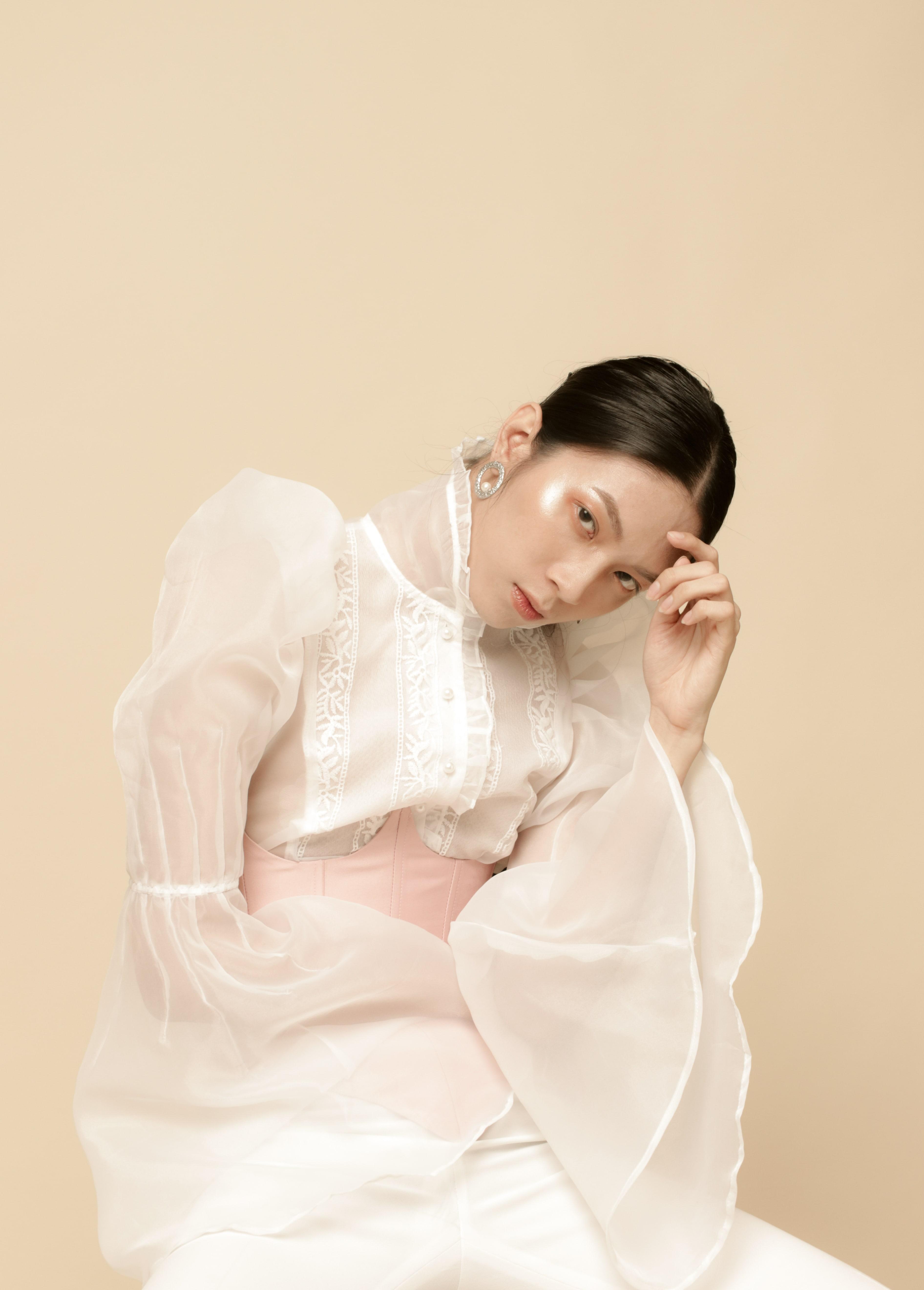 Vẻ đẹp của nữ sinh Việt ngành Thiết kế được cư dân mạng Trung Quốc hết lời khen xinh - 8
