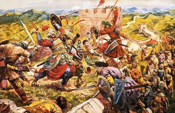 Tại sao Hung Nô không bị nhà Hán đô hộ dù đã suy yếu và lãnh thổ chia năm xẻ bảy? - 1