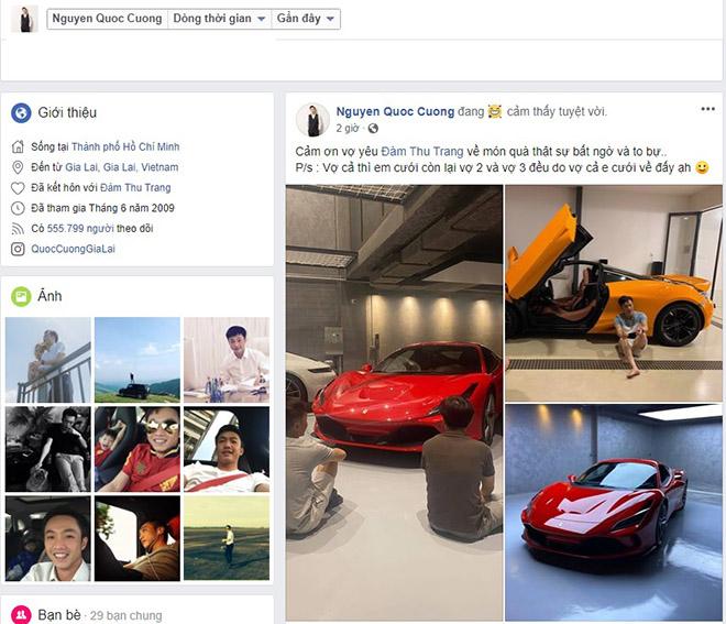 Doanh nhân Quốc Cường tậu thêm siêu xe Ferrari F8 Tributo - 1