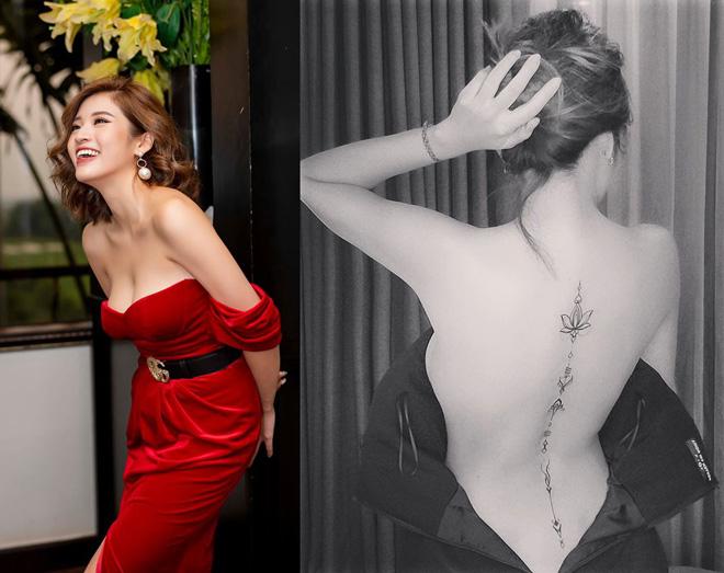 """""""Hoa hậu tỏ tình Lâm Tây"""" có 3 hình xăm, tiết lộ vị trí đau nhất - 1"""