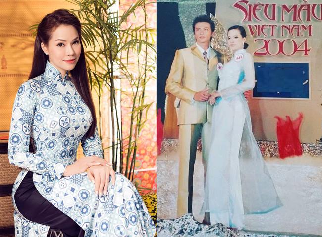 Côtừng tham gia giải Siêu mẫu Việt Nam năm 2004.