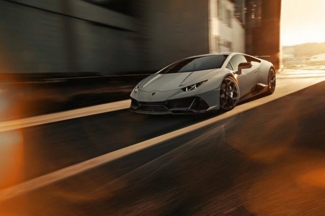 """""""Siêu bò"""" Lamborghini Huracan EVO hầm hố với ngoại hình bắt mắt - 1"""