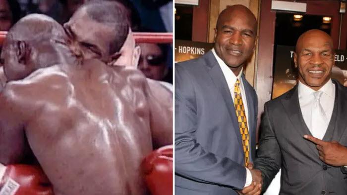 Thâm cung bí sử vết nhơ Mike Tyson cắn tai Holyfield, vẫn kiếm 3 triệu đô - 1